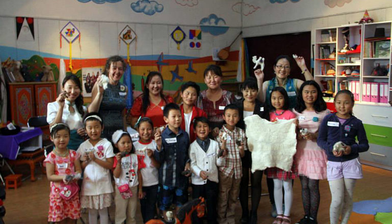 National Museum Education Program - Mongolian Felt