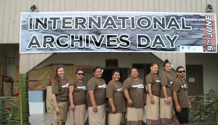 Staff - International Archives Day Celebration Sāmoa