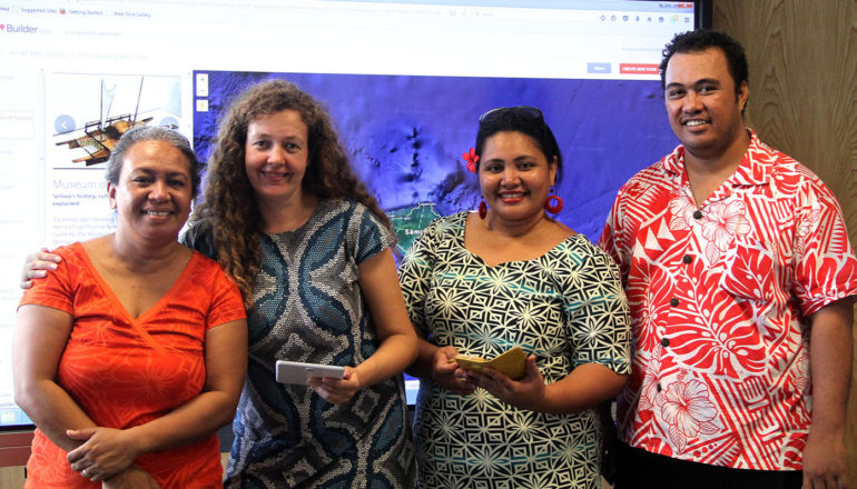 Launch of Tour of Apia App